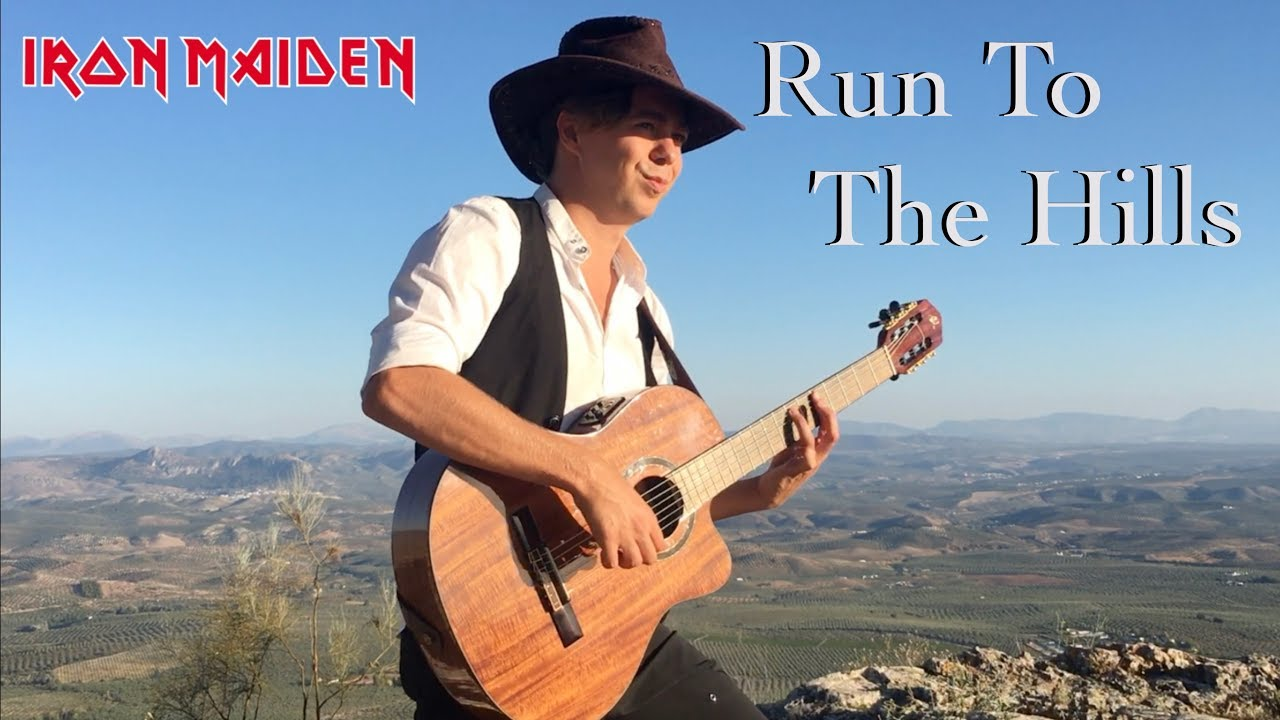 Run To The Hills (IRON MAIDEN) Acoustic – Classical Fingerstyle Guitar by Thomas Zwijsen