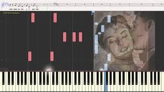Русая головка - Шульженко Клавдия (романс) (Ноты и Видеоурок для фортепиано) (piano cover)