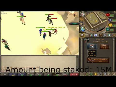Coca Brew – [Live] Commentary Staking Video #1 – Runescape Gameplay