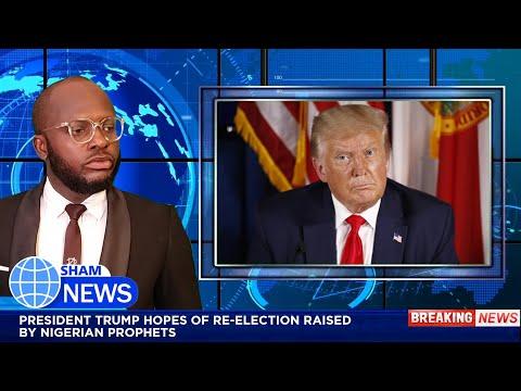 PRESIDENT TRUMP HOPES OF RE-ELECTION RAISED BY NIGERIAN PROPHETS   SHAMNEWS   IGOSAVE
