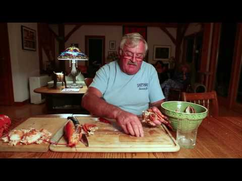 How To Crack And Eat A Hard Shell Lobster With Lobster Fisherman Jeff Peterson