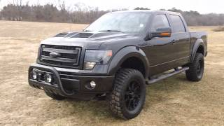 2013 Ford F150 FX4 Black Ops Edition Rare Truck, Used trucks for sale in Maryland # F400388A