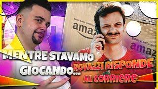 Fortnite : Duo Con Rovazzi e il Corriere Amazon che Citofona