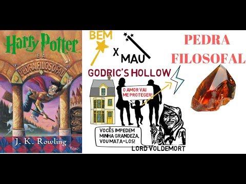 HARRY POTTER E A PEDRA FILOSOFAL - J.K. ROWLING ?RESENHA ANIMADA