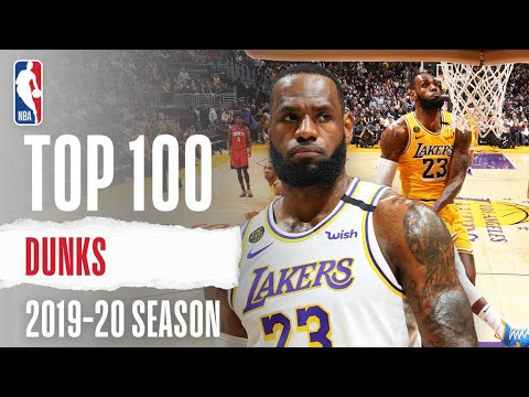 The TOP 100 Dunks From The 2019-20 Season | LeBron 👑, Giannis 🦌 and MORE!