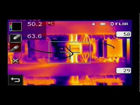 High Resolution Infrared Camera - FLIR T620 / T640 Video Image
