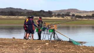 Gariep Dam South Africa  City new picture : Fishing action at Gariep Dam Part 01