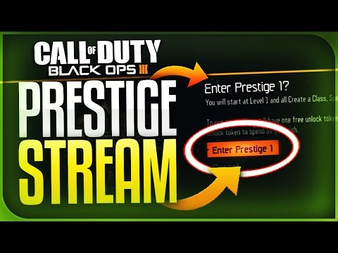 IT'S TIME TO PRESTIGE... (Black Ops 3)