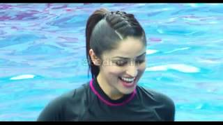 Yami Gautam Attend Speedo Host Vertical Underwater Fitness Training