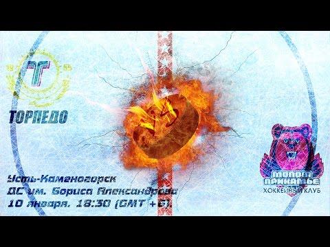 10.01.2017 | Торпедо - Молот-Прикамье  3-4 Б (видео)