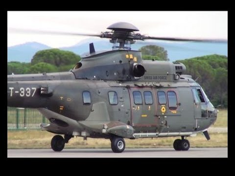 Swiss Air Force Super Puma Solo...