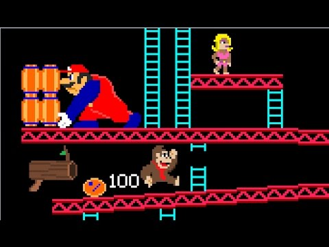 If Donkey Kong and Mario switched places (видео)