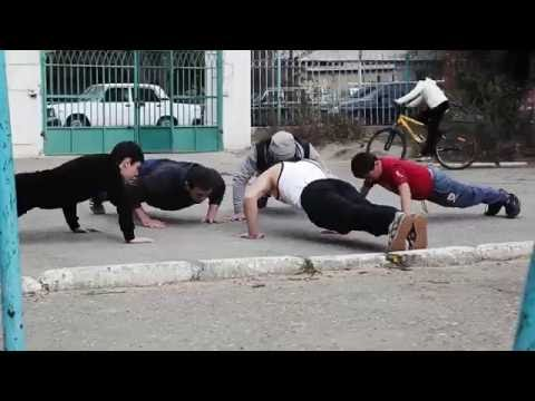Уличный спорт в Дагестане - SТRЕЕТ WОRКОUТ - DomaVideo.Ru