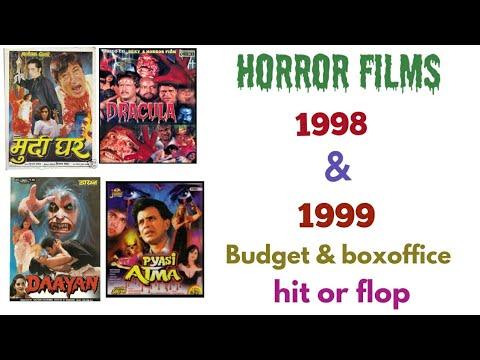 Bollywood horror movies 1998 & 1999 budget & boxoffice hit flop horror films Bollywood hindi
