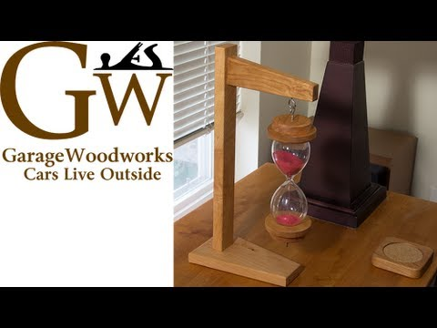 Make A Hanging Hourglass