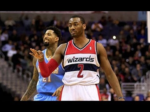 John Wall DENIES Kenneth Faried