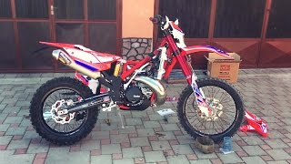 Subscribe to Channel: http://bit.ly/TheDirtBikeRiderWebsite: http://thedirtbikerider.com/..........................Read more..........................My friend just bought brand new Beta RR300 2017 Factory Racing Edition. I helped him to install some basic stuff on bike like Beta Rain Switch Mode for handlebars ,radiator fan and also for front forks valves for air (but i dont like it).We are still waiting for front disc guard,rear disc guard, skidplate,aluminum handguards, front pull straps and linkage guard.The Racing Edition has some special parts when we compare to standard edition: front quick release axle pull for more easy tire change, RR erting hand guards but they are like motocross style, black robust footrests very wide for maximum grip, red chain tensioner, special racing seat with pocket, black shift lever, transmission oil cap & engine oil cap and oil filer cap are from red anodized aluminum fore pure cool factory look. More info about bike compared to KTM EXC300 very soon on my siteMY SHOP (Buy one, Support me):https://www.printmotor.com/thedirtbikerider/Social Media:Facebook : https://www.facebook.com/TheDirtbikeRiderInstagram: https://instagram.com/TheDirtbikeRiderSecond Channel: https://youtube.com/TheDirtbikeRider1994MY GEAR:ACTION CAMERA: http://amzn.to/2hootjgGOPRO GIMBAL: http://amzn.to/2gCKLOEOTHER CAMERA: http://amzn.to/2hoszIdBEST MICROPHONE: http://amzn.to/2gGTduKMusicTitle: Tristam & Braken - Frame of MindiTunes Download Link: https://itunes.apple.com/us/album/monstercat-best-dnb-drumstep/id1185199402Listen on Spotify: https://open.spotify.com/album/2nqwPzOklrEYf1LND3zpuBVideo Link: https://www.youtube.com/watch?v=YRdDtO2VkfE