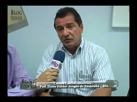 Entrevista,Pref.eleito de Anajatuba - MA. Hélder Aragão 2°parte.