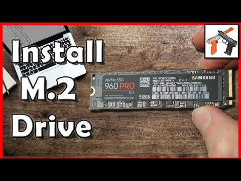 How To Install An M.2 SSD: Installation Tutorial With Samsung 960 Pro M2 SSD Drive