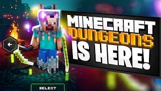 MINECRAFT DUNGEONS IS FINALLY HERE! | Minecraft Dungeons Episode 1