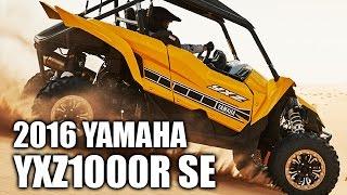 1. 2016 Yamaha YXZ1000R SE Ride Impressions