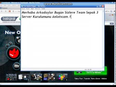 TeamSpeak3 Server Kurulumu
