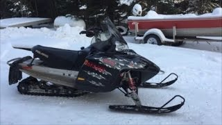 9. 2007 Polaris Dragon 700 Walk Around And Cold Start