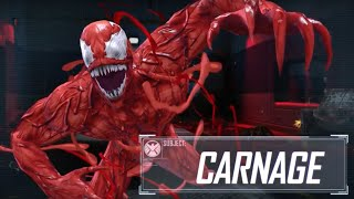 Carnage is now available as a playable character in Marvel Heroes Omega on PC.Watch more trailers here!https://www.youtube.com/watch?v=vvB2wiDUDdA&list=PLaQokWZfgbynLRhV7HigqcfVAzsNB-t6b&index=1----------------------------------Follow GameTrailers for more!------------------------------——YOUTUBE: https://www.youtube.com/c/gametrailers?sub_confirmation=1FACEBOOK: https://www.facebook.com/gametrailers/?fref=tsTWITTER: https://twitter.com/GameTrailers#gametrailers