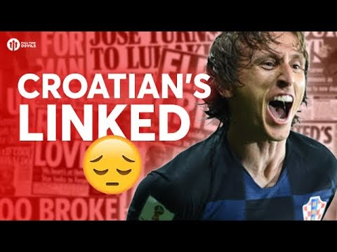 Croatian's Linked :( Tomorrow's Manchester United Transfer News Today! #38