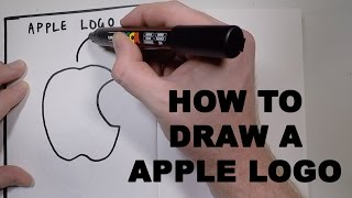 How to Draw a Apple Logo