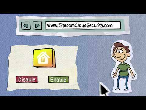 Sitecom Cloud Security explained by Albert