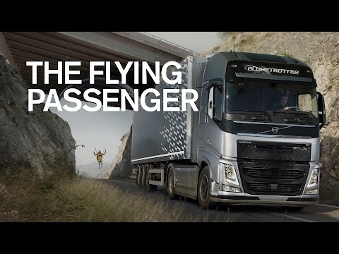 Volvo Trucks The Flying Passenger