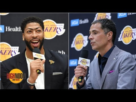 Video: Should Anthony Davis have done Rob Pelinka a favor by lying? | High Noon