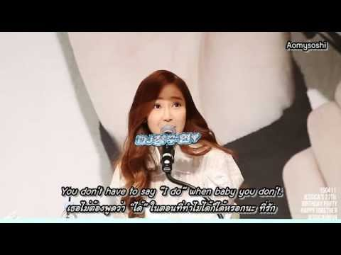 [ThaiSub] 150411 Jessica's Birthday Party 3 (Tell me if you wanna go home)