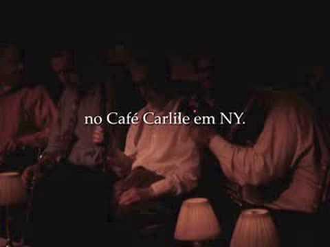 Woody Allen no Café Carlyle em Nova York