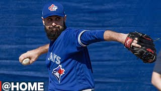 @Home with Matt Shoemaker talking MLB's potential plans for return to action by Sportsnet Canada