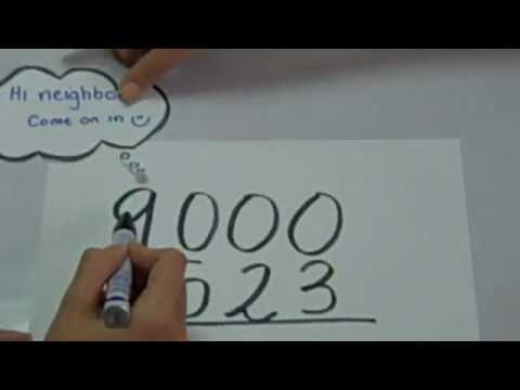 Ms. Cao\'s 4th Grade Math: Subtracting Across Zeros & Adding and ...