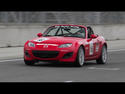 Skip Barber Racing School Spec Miata Walkaround Video