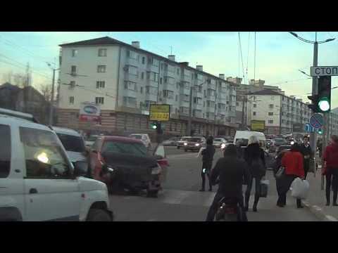 ДТП 13.02.2014 Новороссийск (видео)