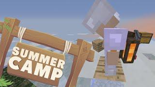 Minecraft | SUMMER CAMP! - UP IN CLOUDS [13]