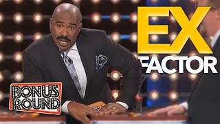 Video YOUR EX!! Steve Harvey Asks IF YOUR EX BOYFRIEND / GIRLFRIEND / WIFE On Family Feud USA MP3, 3GP, MP4, WEBM, AVI, FLV Juli 2019