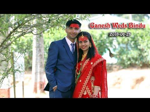(Timi Sang    GANESH WEDS BINDU    New Nepali Wedding Highlight    Poudel Digital Gulmi - Duration: 7 minutes, 57 seconds.)