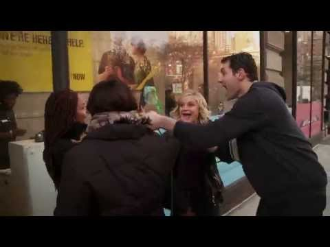 'It's - Parks and Recreation co-stars and Christmas caroling experts, Amy Poehler and Billy Eichner are reunited once again in this week's brand new Billy on the Str...