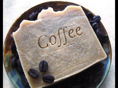 Cum facem sapun cu cafea si cocos-MAKING COCONUT&COFFE SOAP