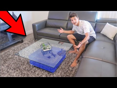 My *NEW* Coffee Table Aquarium!!!