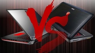 Alienware 17 2014 VS MSI GT70 DOMINATOR - Gaming Laptop Battle - Tech Specs Comparison 2014