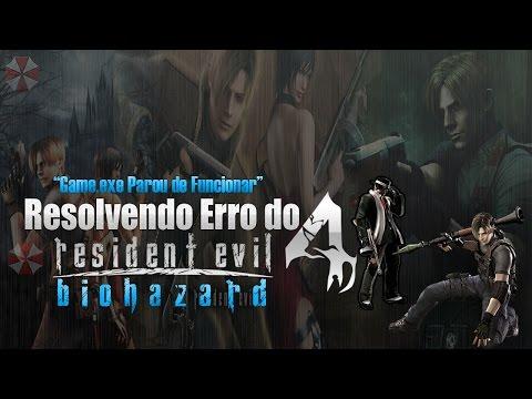 Resolvendo erro do Resident Evil 4 [Game exe Parou de Funcionar] 2015