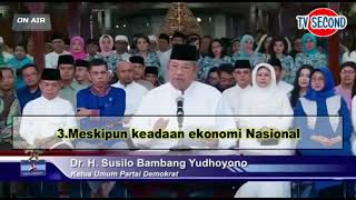 "Video ""SBY MEMBERIKAN DUKUNGAN  KEPADA JOKOWI AMIN PADA PILPRES 2019"" MP3, 3GP, MP4, WEBM, AVI, FLV Maret 2019"