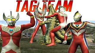"""Ultraman Gaia Supreme & Ultraman Taro Tag battle / Tag Teamrequested by @rezq ikhtisasFacebook Page https://www.facebook.com/AnimePortableGamesUltraman Fighting Evolution 3 (ウルトラマン Fighting Evolution 3) also called """"Ultraman FE3"""" is a Fighting game developed and published by Banpresto. it is the 3rd in the Ultraman Fighting Evolution series. The direction is provided by Yuji Machi, who acted as Ultraman Tiga's voice actor as well.Keywordultramanultraman newultraman hqultraman hdUltraman Originalultrasevenultraman jackultraman aceultraman taroultraman leozoffyultraman 80ultraman tiga, Sky & powerultraman dyna, power & Miracleultraman gaia &Supremeultraman agul & V2ultraman cosmos eclipse & Futureultrmana justice & Crusherultraman legendastra"""