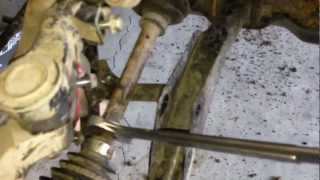 10. Removing Grizzly axles without special tools